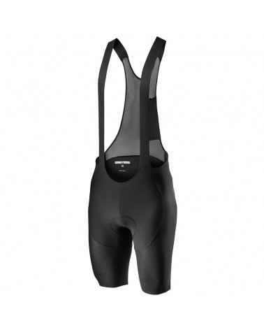 Castelli Superleggera Bibshort Salopette Corta Uomo, Black (Fondello X2 Air Seamless)