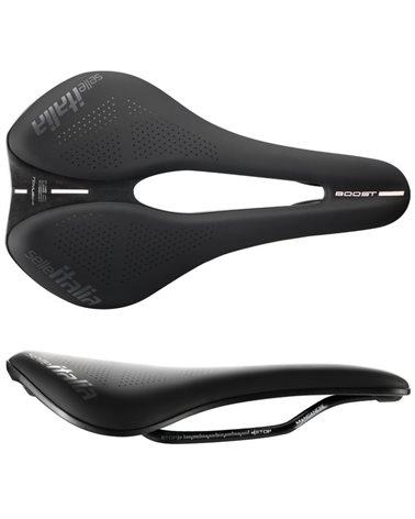 Selle Italia Bicycle Saddle Novus Boost EVO TM Superflow, Black