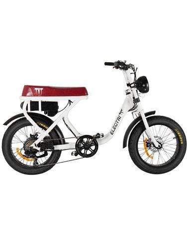 "Electri TNT e-Bike Fat 20"" 250W, White"