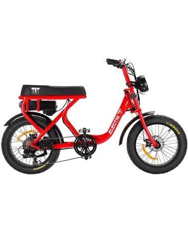 "Electri TNT e-Bike Fat 20"" 250W, Red"