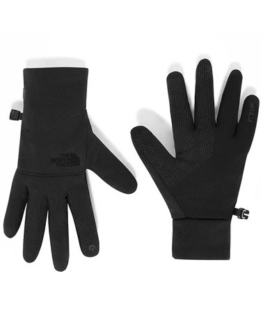 The North Face Etip Men's Recycled Touchscreen Compatible Glooves, TNF Black