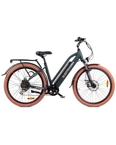 "Electri Aima 26"" e-Bike 250W Shimano Acera 8sp Disc Brake, Matte Dark Green"