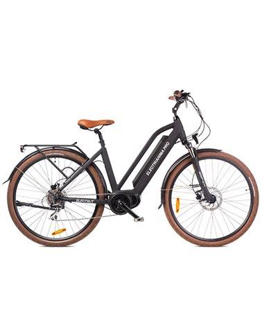 """Electri Aima Pro 28"""" e-Bike 250W Shimano Acera 8sp Disc Brake, Matte Black"""