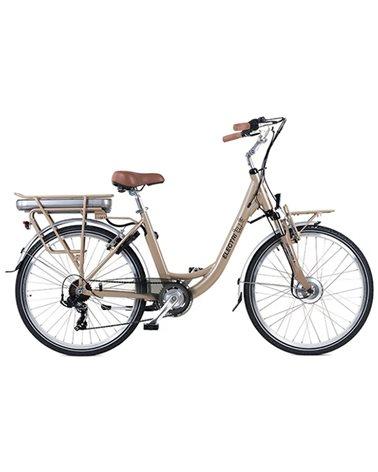 "Electri Ellie 26"" e-Bike 250W Shimano 7v, Sand"