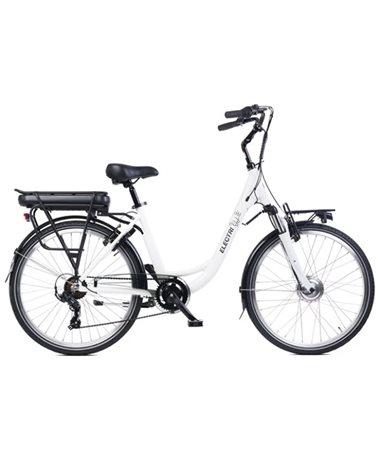 """Electri Ellie 26"""" e-Bike 250W Shimano 7v, White"""