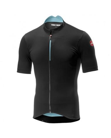 Castelli Espresso Men's Short Sleeve Cycling Jersey, Dark Gray
