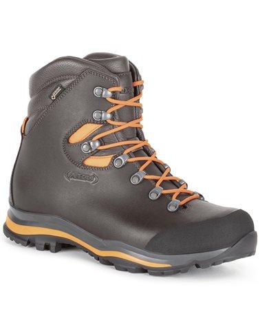 Aku Riserva GTX Gore-Tex Men's Trekking Boots, Brown/Fluo Orange