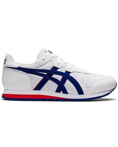 Asics OC Runner Men's Shoes, White/Monaco Blue