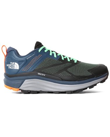 The North Face Vectiv Futurelight Enduris Men's Trail Running Shoes, TNF Black/Monterey Blue