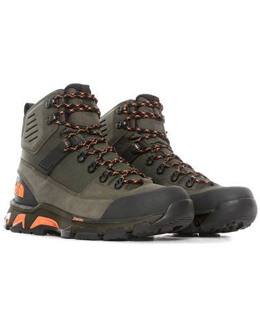 The North Face Crestvale Futurelight Men's Hiking Boots, New Taupe Green/TNF Black