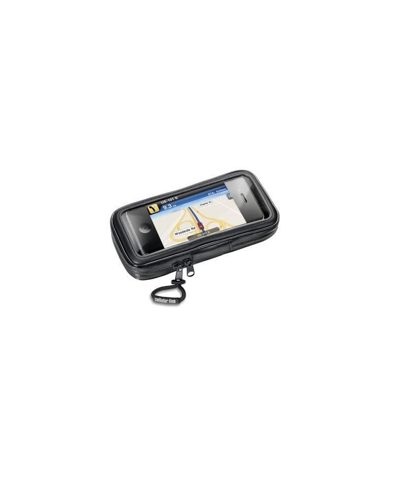 Cellular Line Custodia Stagna Staffa Bici Moto - Supporto Smartphone iphone