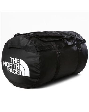 The North Face Base Camp Duffel XXL Borsone 150 Litri, TNF Black/TNF White