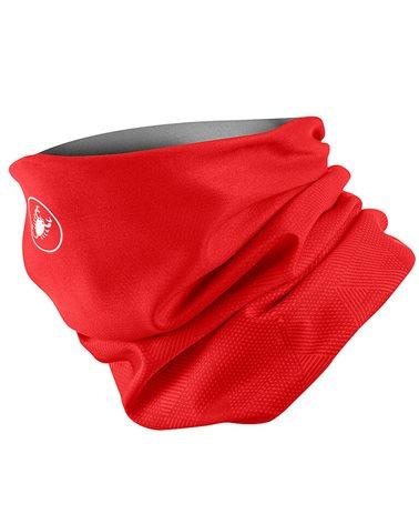 Castelli Pro Thermal Head Thingy Scaldacollo Multiuso Thermoflex, Red (Taglia Unica)