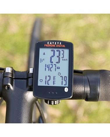Cateye Padrone Digital SP/CD Ciclocomputer Wireless con Sensore Velocità/Cadenza