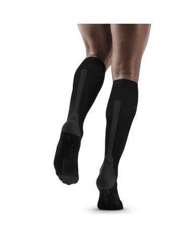 Cep Run Compression 3.0 Men's Running Socks, Black/Dark Grey