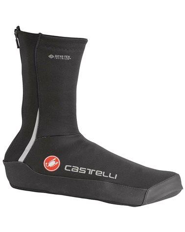 Castelli Intenso UL GTX Gore-Tex Windstopper Copriscarpe Ciclismo, Light Black