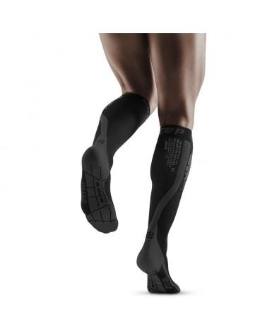 Cep Nighttech Calze a Compressione Running Uomo, Black