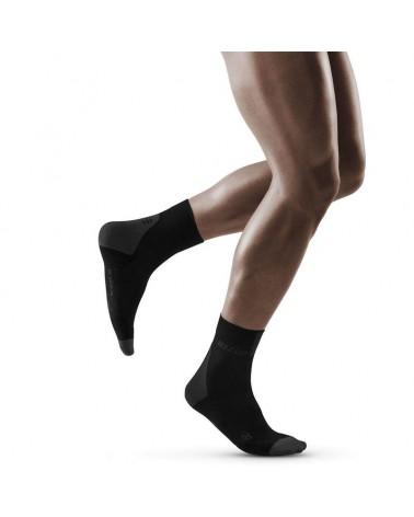 Cep Compression Short Socks 3.0 Men's Multisport Socks, Black/Dark Grey