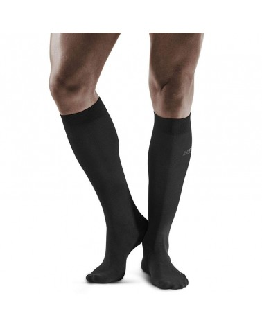 Cep Business Socks Calze Uomo, Black