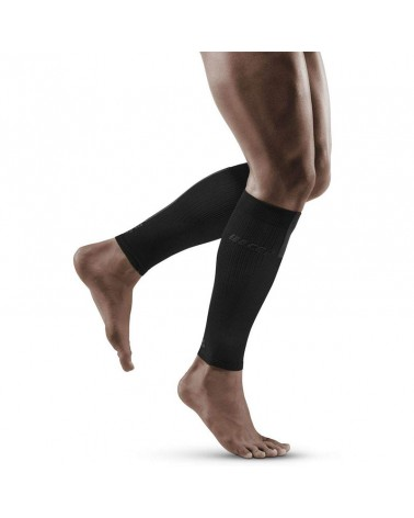 Cep Calf Sleeves 3.0 Gambaletti a Compressione Uomo, Black/Dark Grey