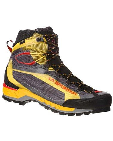 La Sportiva Trango Tech GTX Gore-Tex Men's Mountaineering Boots, Black/Yellow