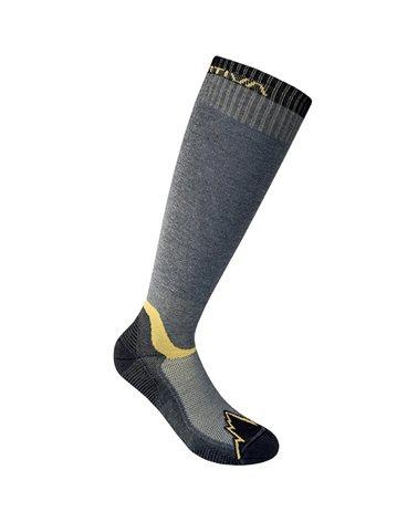 La Sportiva X-Cursion Men's Long Socks, Black/Yellow