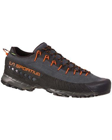 La Sportiva TX4 GTX Gore-Tex Men's Approach Shoes, Carbon/Flame