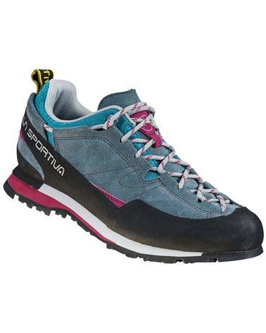 La Sportiva Boulder X Women's Approach Shoes, Slate/Red Plum
