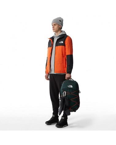 The North Face Borealis Backpack 28 Liters, Dark Sage Green/Red Orange