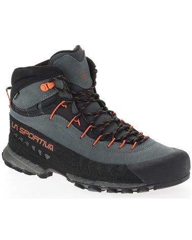 La Sportiva TX4 Mid GTX Gore-Tex Men's Approach Boots, Carbon/Flame