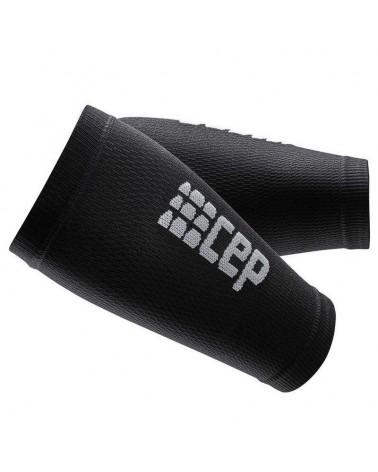 Cep Forearm Sleeves Manicotti Avambracci a Compressione Unisex, Black/Dark Grey