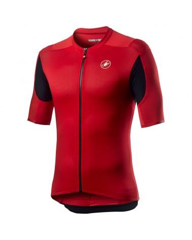 Castelli Superleggera 2 Men's Short Sleeve Cycling Jersey, Red