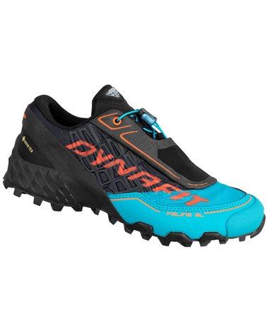 Dynafit Feline SL GTX Gore-Tex Scarpe Alpine Running Donna, Black Out/Ocean