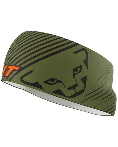 Dynafit Graphic Performance Headband Fascia Frontale, Winter Moss/4490 Striped (58 Taglia Unica)