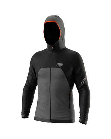 Dynafit Tour Wool Thermal Giacca Termica con Cappuccio Uomo, Black Out/0530