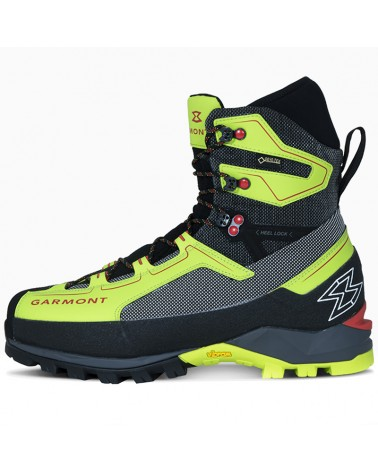 Garmont Tower 2.0 Extreme GTX Gore-Tex Men's Mountaineering Boots, Lime/Black