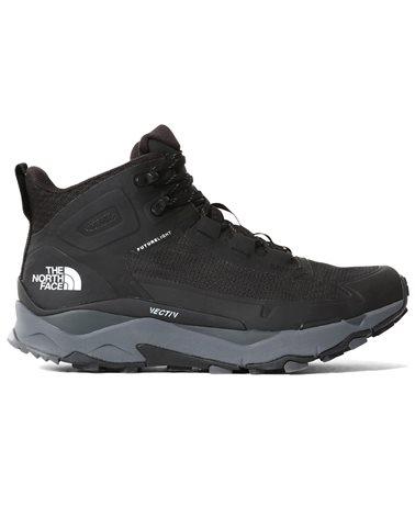 The North Face Vectiv Futurelight Exploris MID Men's Hiking Boots, TNF Black/Zinc Grey