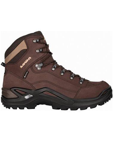 Lowa Renegade MID GTX Gore-Tex Men's All Terrain Classic Boots, Espresso