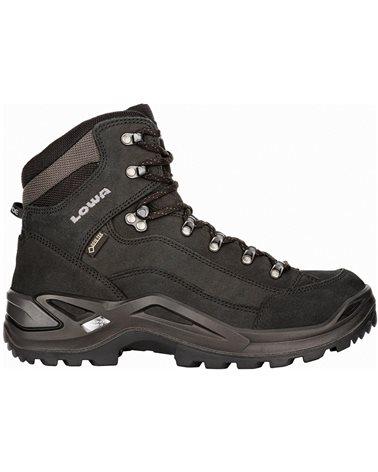 Lowa Renegade MID GTX Gore-Tex Men's All Terrain Classic Boots, Deep Black