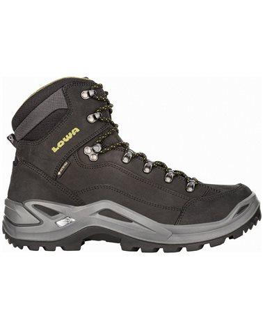 Lowa Renegade MID GTX Gore-Tex Men's All Terrain Classic Boots, Black/Olive