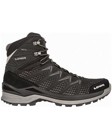 Lowa Innox Pro MID GTX Gore-Tex Men's Hiking Boots, Black/Grey