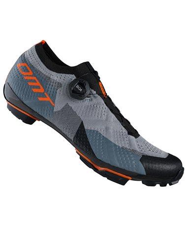 DMT KM4 Men's MTB XC/Marathon Cycling Shoes, Anthracite/Black/Orange