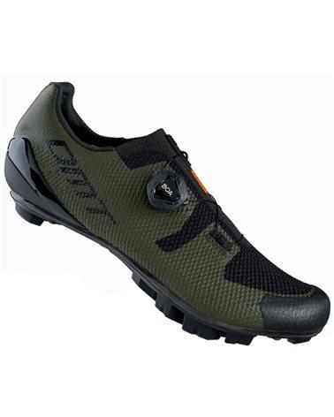 DMT KM3 Men's MTB XC/Marathon Cycling Shoes, Green/Black
