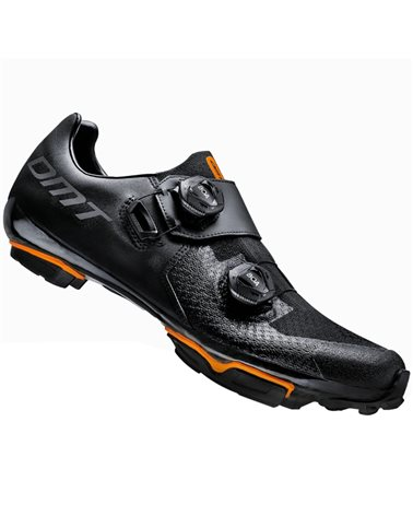 DMT MH1 Men's MTB XC/Marathon Cycling Shoes, Black/Black
