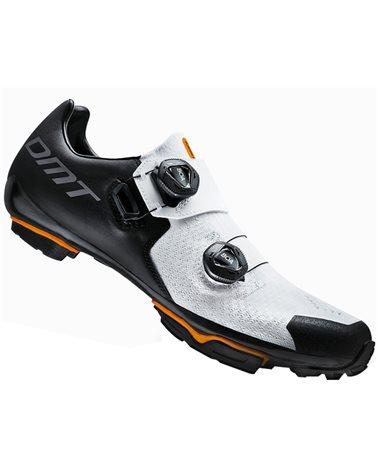 DMT MH1 Men's MTB XC/Marathon Cycling Shoes, Black/White