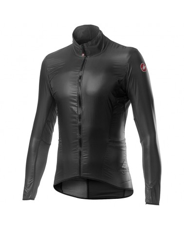 Castelli Aria Shell Windproof Men's Cycling Packable Jacket, Dark Gray