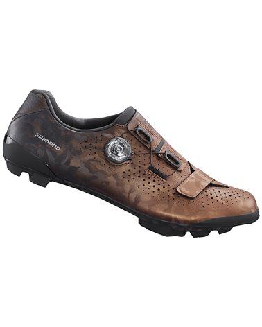 Shimano SH-RX800 Men's Gravel Cycling Shoes, Bronze