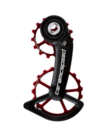 Ceramicspeed 107379 Pulley OSPW Sram Red/Force AXS Red