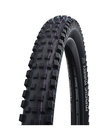 Schwalbe Magic Mary 29x2.40 EVO SnakeSkin Super Gravity Addix Ultra Soft Tubeless Ready Tyre, Black