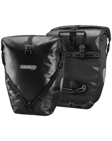 Ortlieb Back-Roller Classic F5301 Coppia Borse Bici Posteriori 40 Litri, Nero